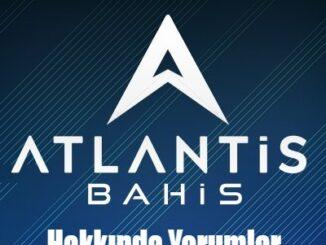 Atlantisbahis Hakkında Yorumlar